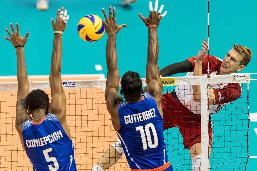 Artur Szalpuk (P) oraz Octavio Conception (L) i David Gutierrez
