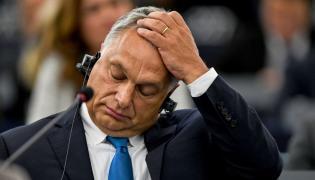 Viktor Orban w Parlamencie Europejskim