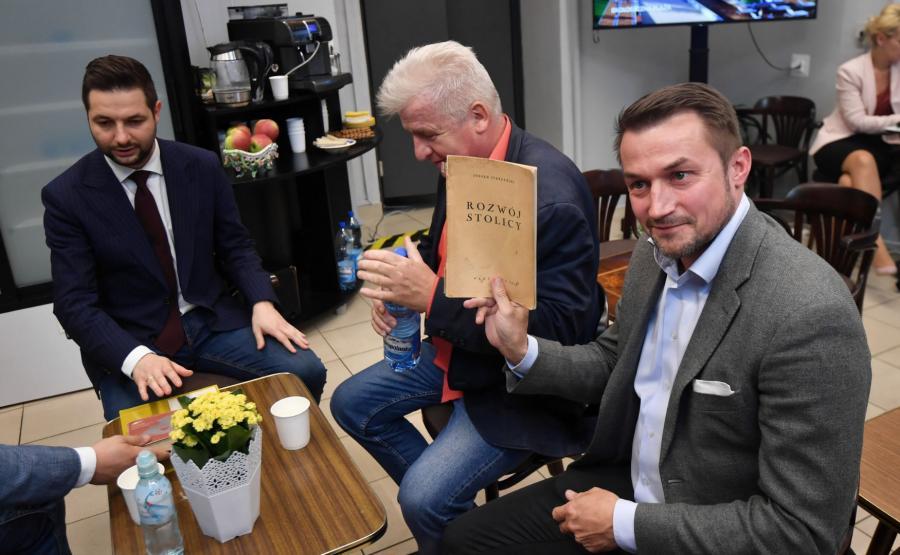 Patryk Jaki, Piotr Ikonowicz, Piotr Guział