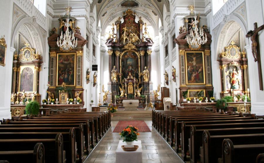 Kościół św. Oswalda w Traunstein