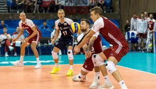 Artur Szalpuk (P) i Michał Kubiak (2P) podczas meczu z Iranem