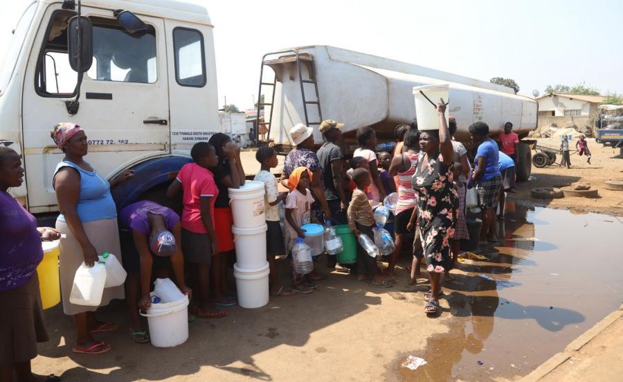 EPIDEMIA CHOLERY W ZIMBABWE