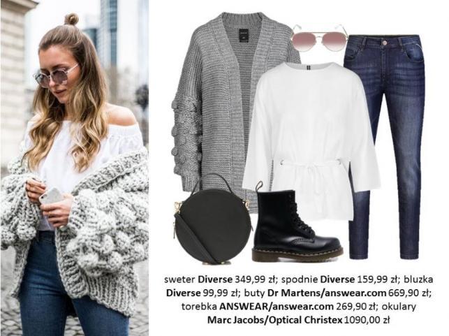 8f90fb9dc2dd Ciepłe i wygodne swetry - modele i zestawy modne tej jesieni ...