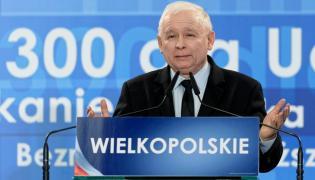 Jarosław Kaczyński na konwencji regionalnej w Poznaniu
