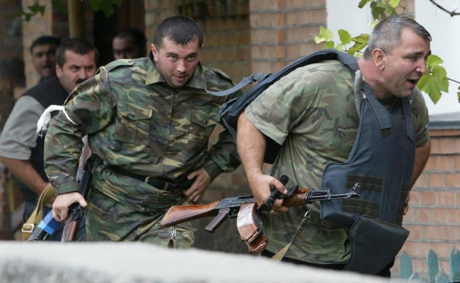 Rosyjscy żołnierze sił specjalnych