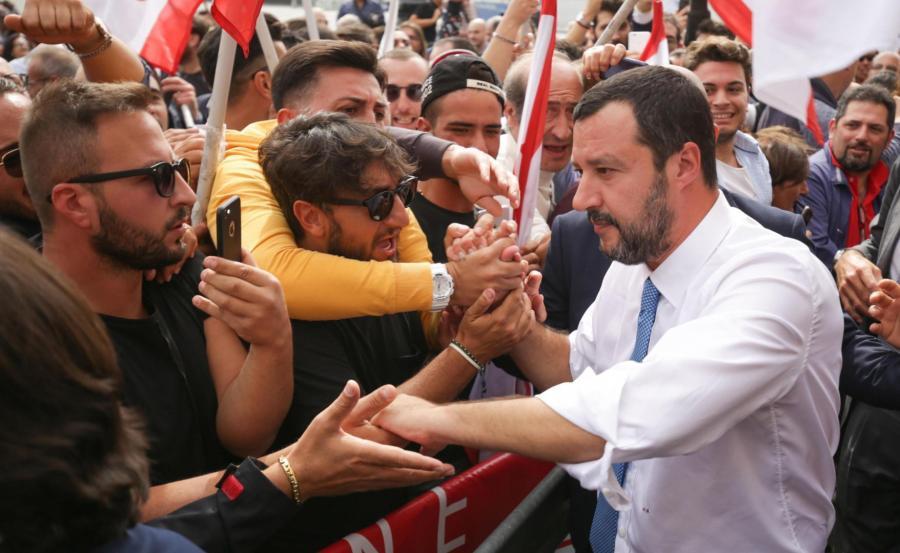 wicepremier Matteo Salvini