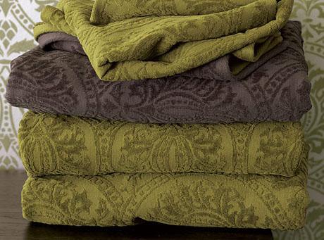 Ręczniki z królewskiej łazienki