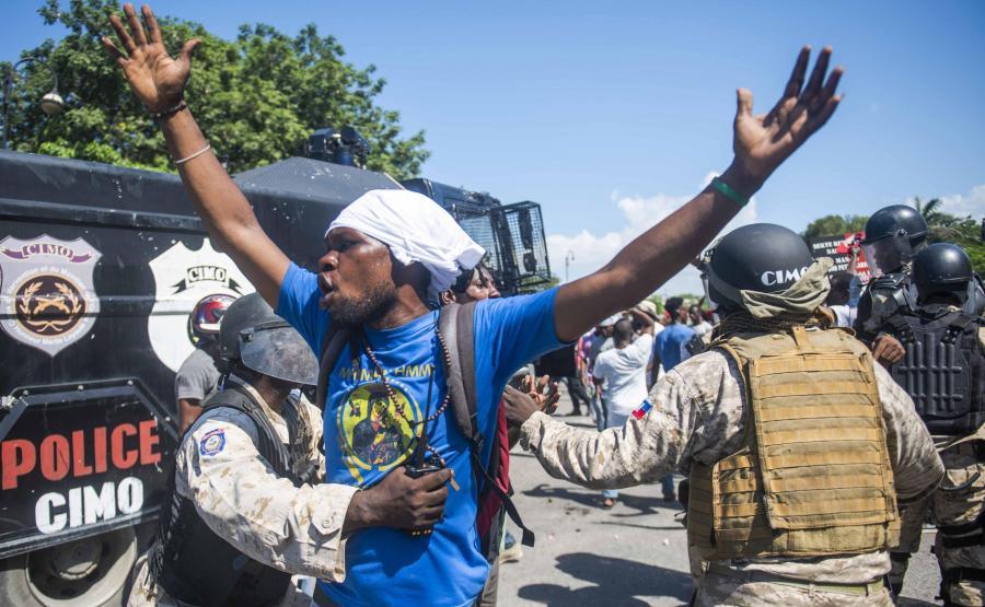 Zamieszki na ulicach Haiti