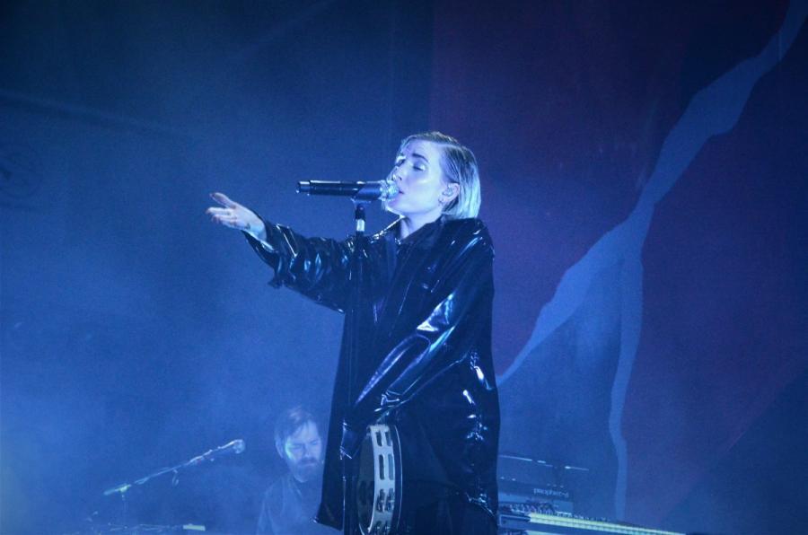 Lykke Li w koncercie na warszawskim Torwarze; 9 listopada 2018 roku