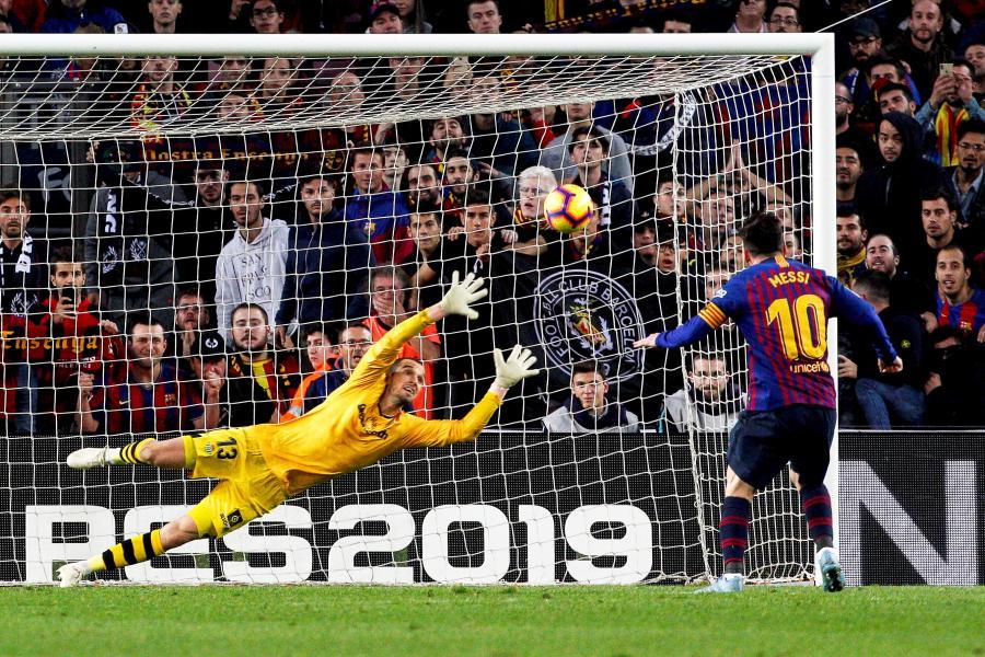 Lionel Messi i Pau Lopez