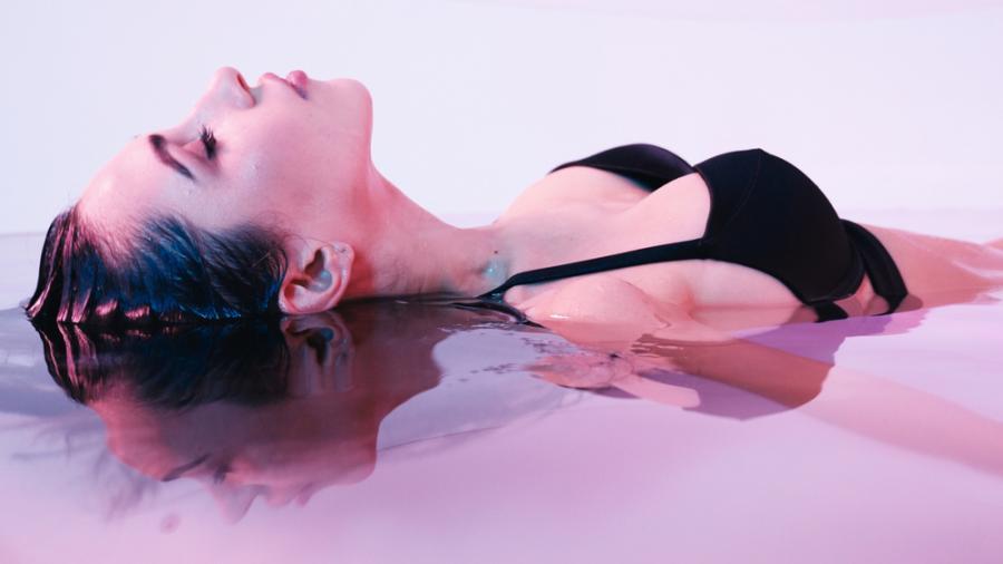 Relaks w wodzie