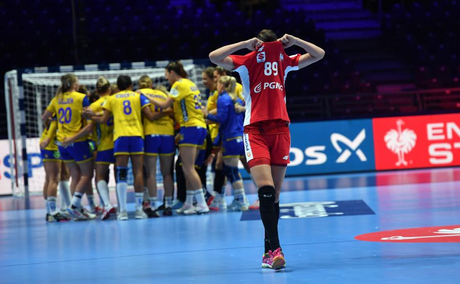 Kinga Achruk po przegranym spotkaniu z reprezentacją Szwecji