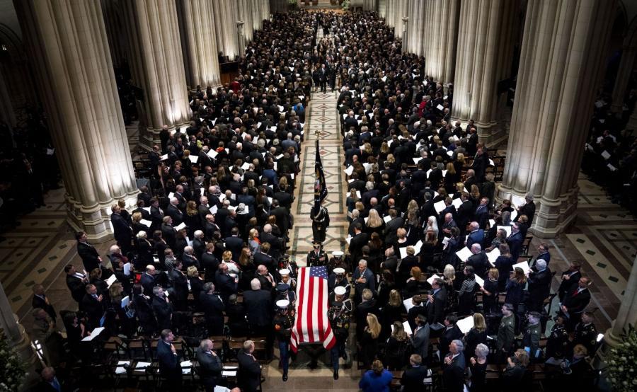 Uroczystości pogrzebowe George\'a H.W. Busha