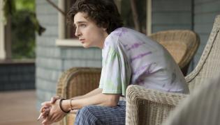 """Timothée Chalamet w filmie """"Mój piękny syn"""""""