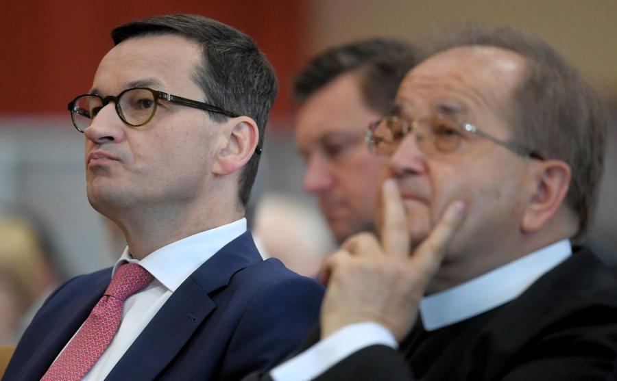 Mateusz Morawiecki i o. Tadeusz Rydzyk