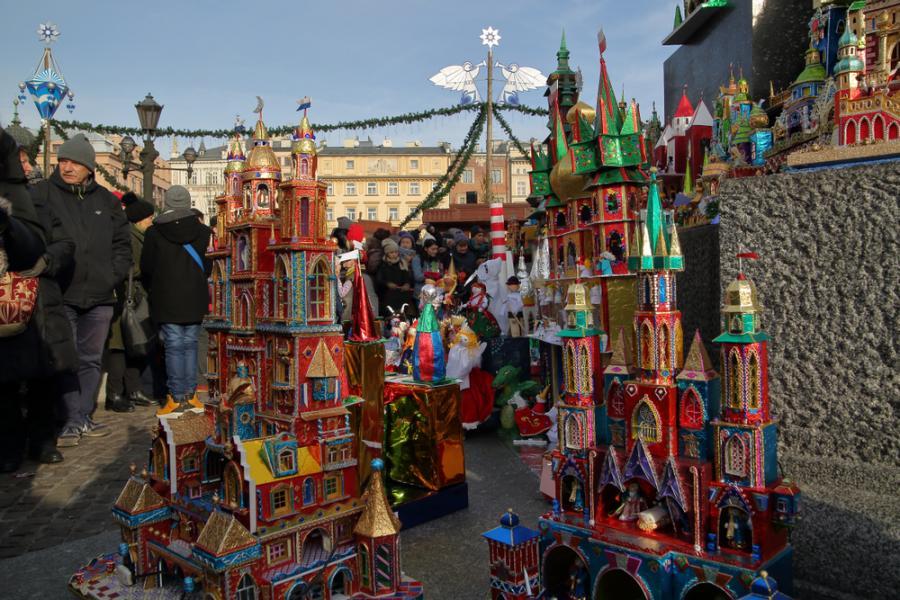 Prezentacja krakowskich szopek bożonarodzeniowych