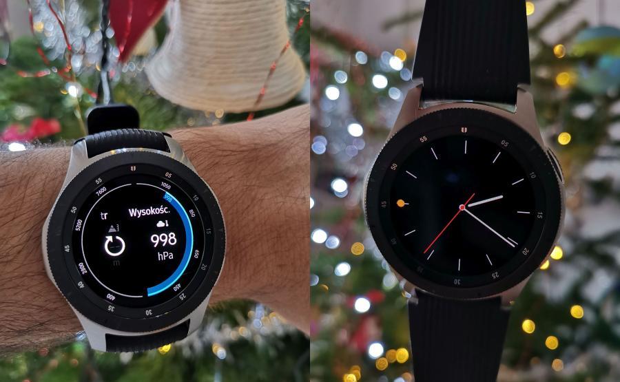 Samsung Galaxy Watch - tarcze zegarka