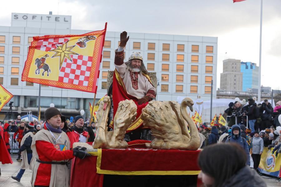 Orszak Trzech Króli przeszedł ulicami Warszawy