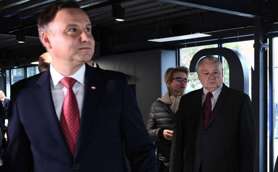 Andrzej Duda i Adam Glapiński