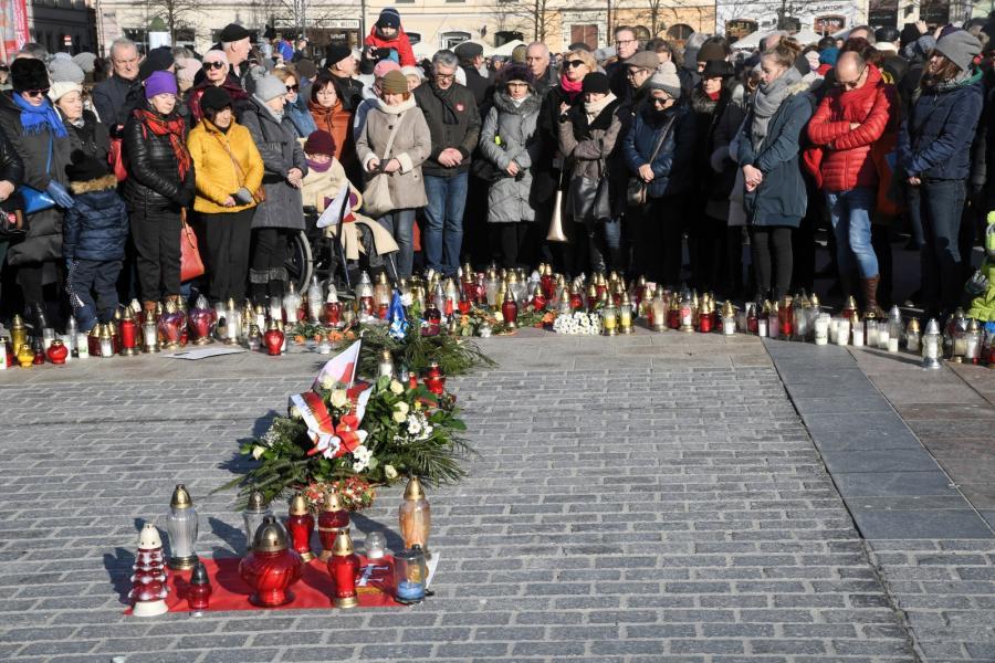 Kraków solidarny z Gdańskiem