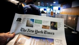New York Times, zdjęcie ilustracyjne