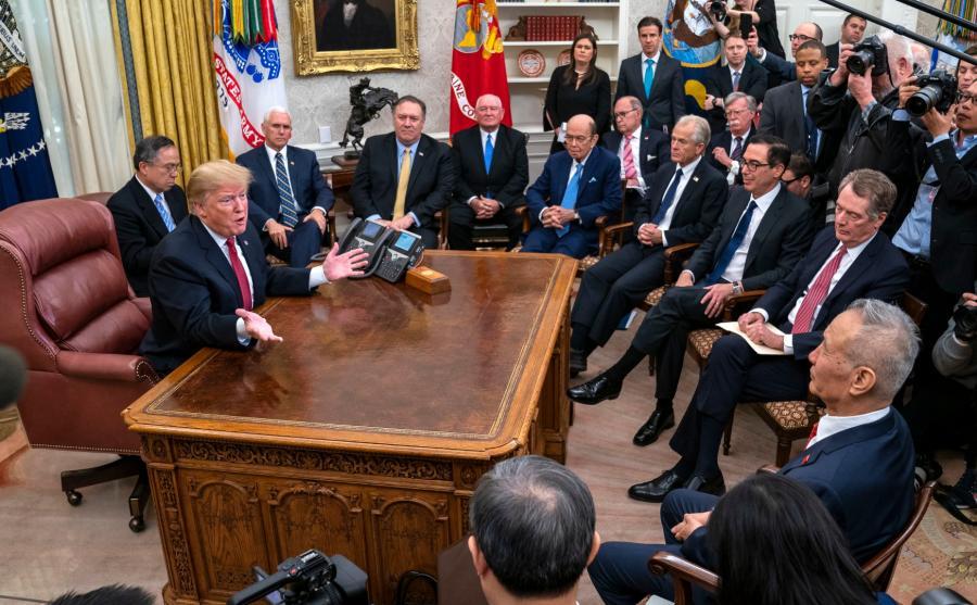 Spotkanie Chiny USA