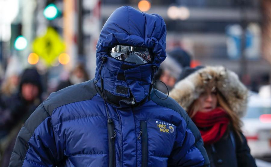 Odpowiedni strój na niskie temperatury