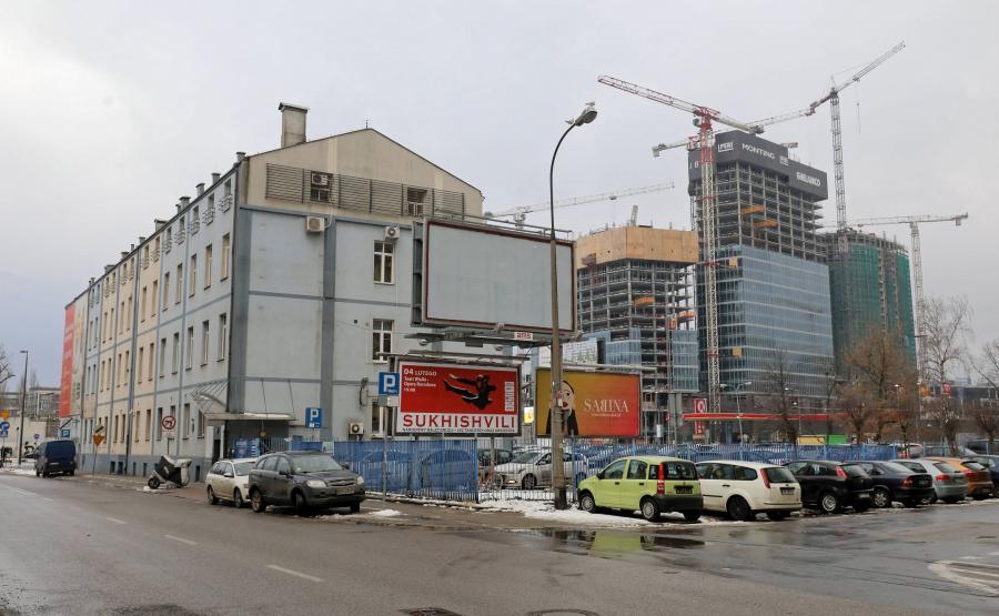 Budynek przy Srebrnej