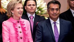 Księżniczka Belgii Astrid i Leon Jaime Rodriguez Calderon