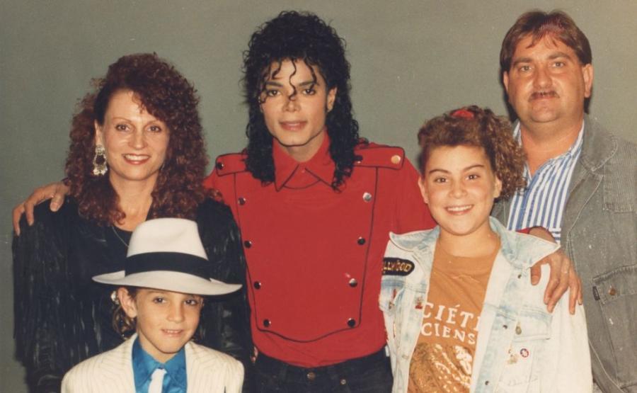 Michael Jackson i Robsonowie (1990 rok)