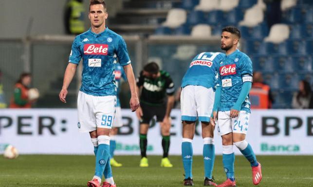 Liga włoska: Milik na boisku pojawił się w drugiej połowie, a Zieliński był tylko rezerwowym