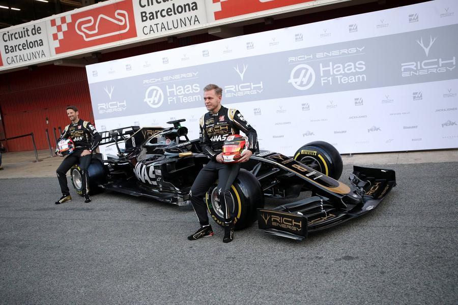 Haas: Romain Grosjean, Kevin Magnussen