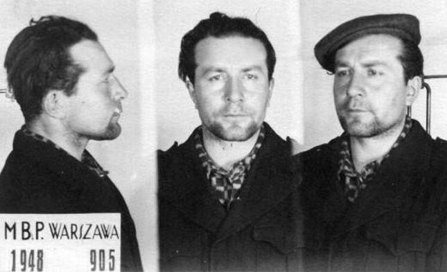 Romuald Rajs po aresztowaniu przez MBP 1948