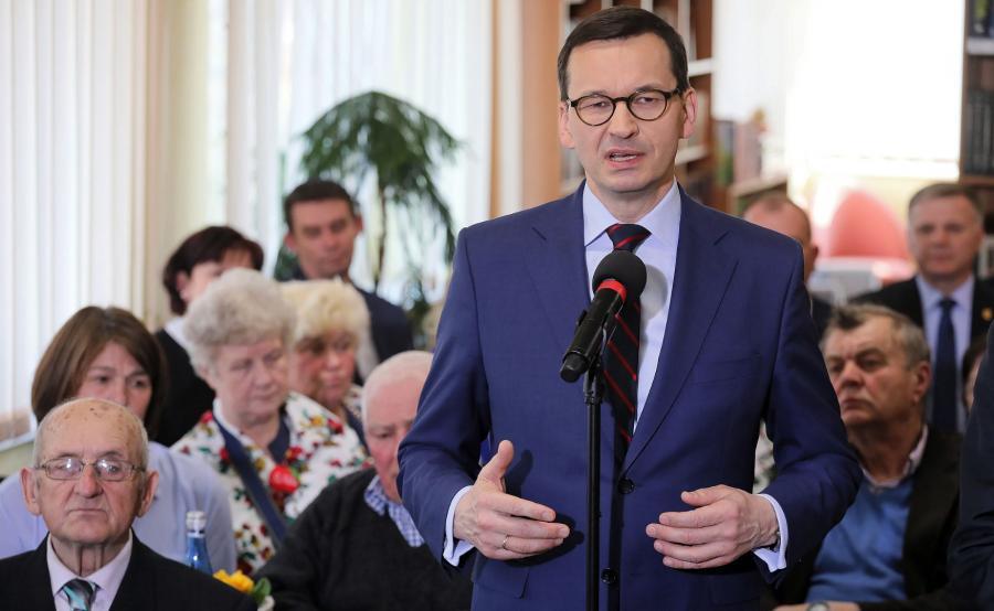 Premier na spotkaniu z seniorami