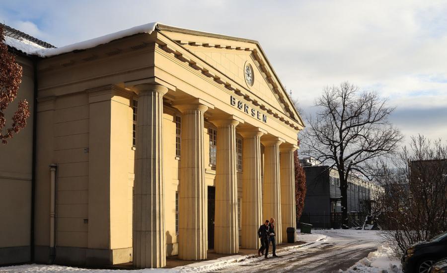 Siedziba norweskiej giełdy