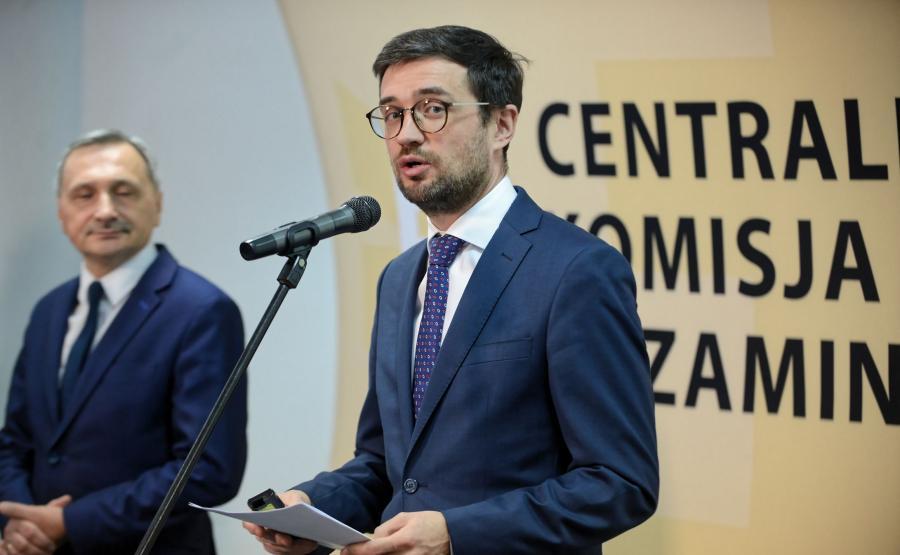 Marcin Smolik, szef CKE