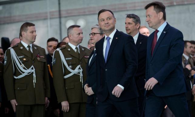 Prezydent: Polacy oddychają z ulgą widząc, że żołnierze przyjeżdżają do ich wiosek, ich miejscowości