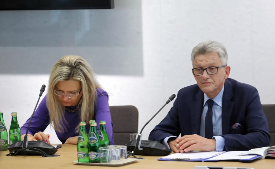 Małgorzata Wassermann i Stanisław Piotrowicz