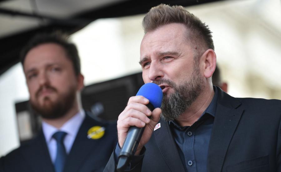 Poseł Wolność i Skuteczni Piotr Liroy-Marzec