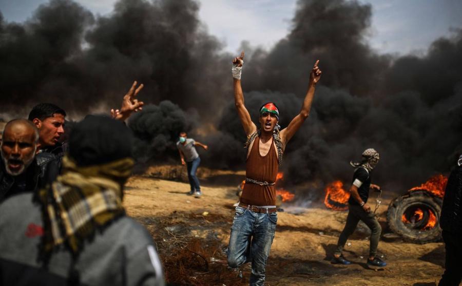 Okolice przejścia granicznego ze Strefą Gazy