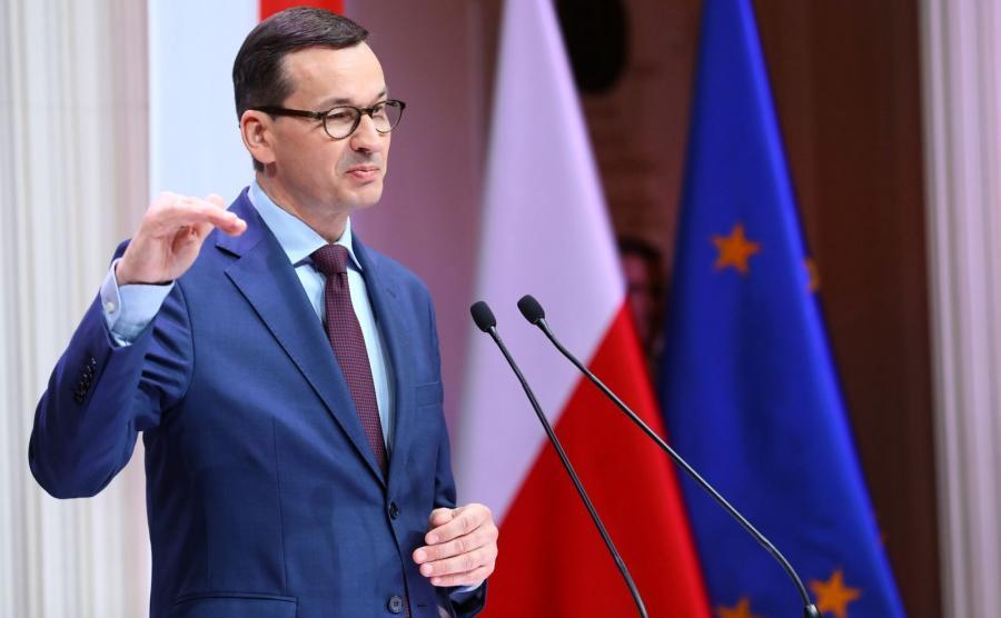 """Premier Mateusz Morawiecki przemawia podczas debaty """"Zwrotnice modernizacji"""""""
