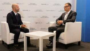 Marek Chądzyński i Paweł Wojciechowski, główny ekonomista ZUS