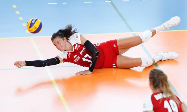 Polskie siatkarki świetnie zaczęły turniej w Montreux. W pierwszym meczu pokonały Japonię