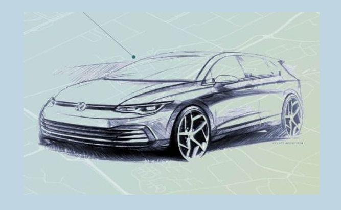 Volkswagen Golf VIII generacji zadebiutuje w październiku 2019 roku