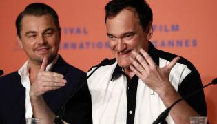 Quentin Tarantino oraz Leonardo Di Caprio