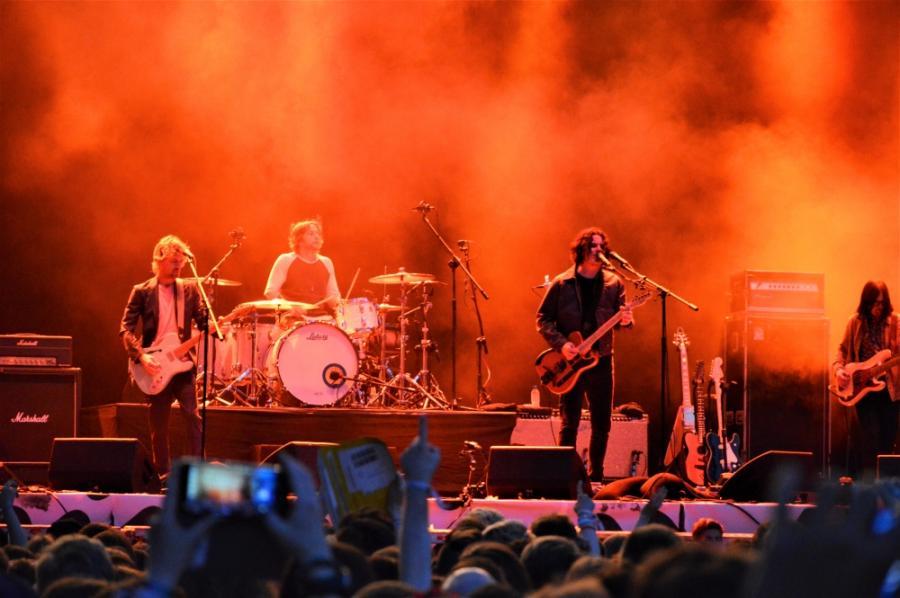 The Raconteurs na scenie Orange Warsaw Festival; 1 czerwca 2019