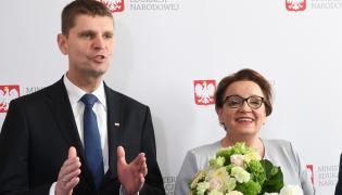 Piontkowski chwali reformę przeprowadzoną przez jego poprzedniczkę Annę Zalewską