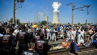 Niemiecka policja kontra ekolodzy