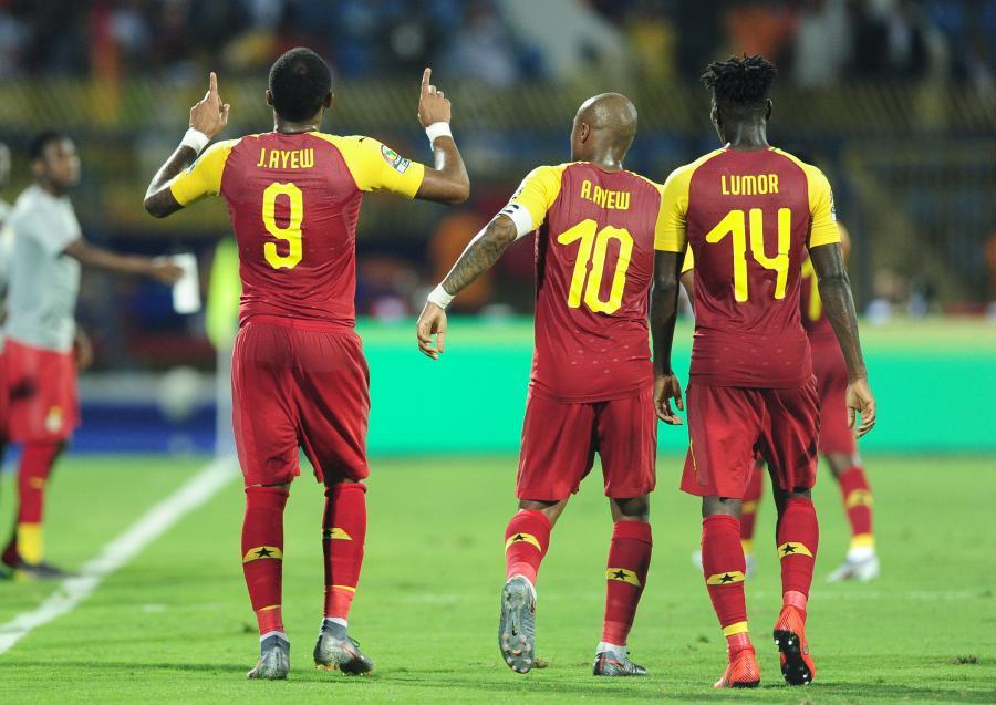 Piłkarze reprezentacji Ghany