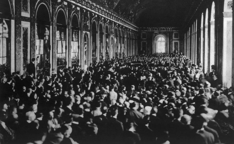 Podpisanie Traktatu Wersalskiego